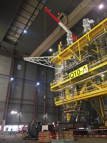 Nieuwe ontwikkeling in offshore crane ct testing