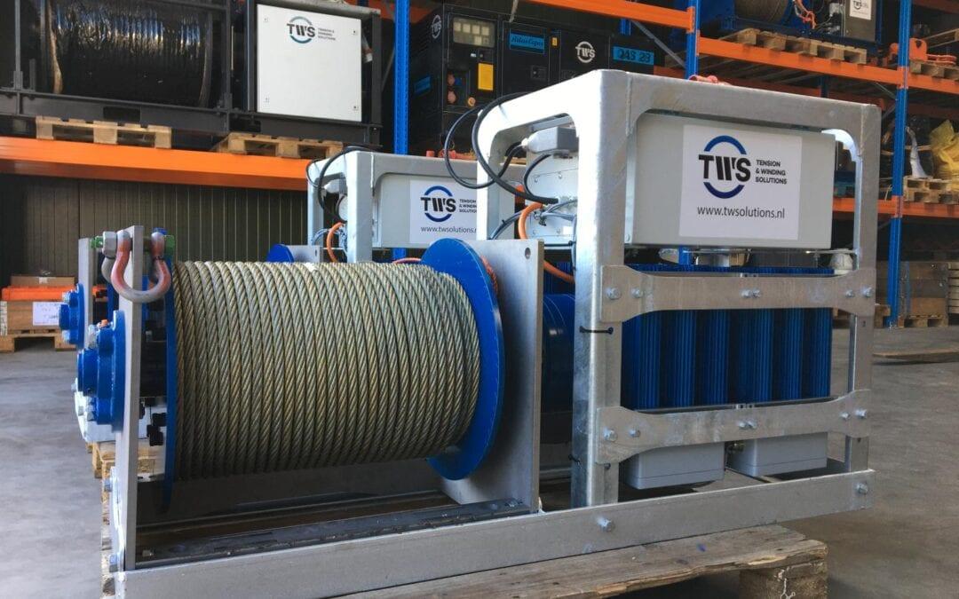 Nieuwe elektrische hijslieren met WLL 3500kg